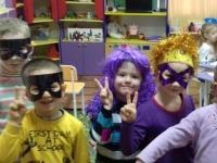 Костюмированный маскарад- отличный праздник для детей.