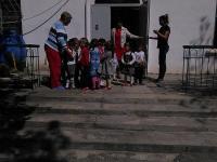 Фотоотчет о прошедшей в детском саду учебной тренировочной эвакуации, по отработке навыков действий в чрезвычайных ситуациях среди сотрудников и воспитанников ДОУ.