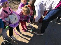 В детском саду была проведена плановая эвакуация детей