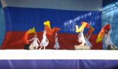 """Воспитанники детского сада выступили на городской сцене в День России. Танец с вейлами """"Алые паруса"""""""