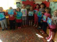 Работы детей по изодеятельности в старше- подготовительной группе «Я ЖИВУ В КРЫМУ».