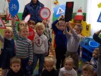 В гостях у детей- инспектор ГИБДД 26.10.2017г.