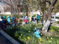 В детском саду была проведена тренировочная эвакуация