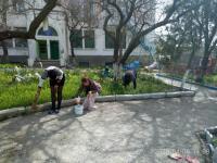 Фотоотчет о проведенном Всекрымском экологическом субботнике