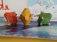 Пасхальные сувениры детей групп Солнышко Теремок и Почемучки