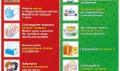 Информация о профилактике ОРВИ и гриппа!